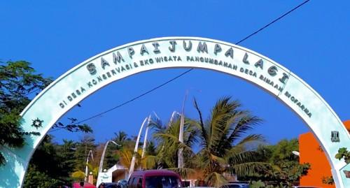Gerbang Pantai Pangumbahan