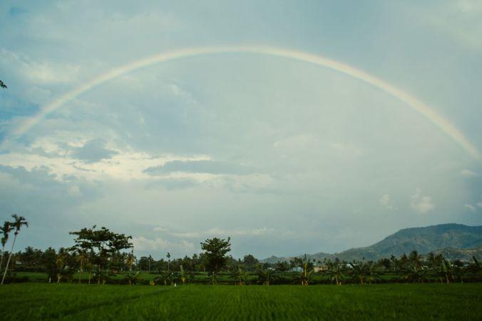 Pelangi di Lombok - Foto: Ardi Wahyudi